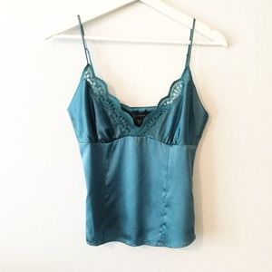 NWT Bebe Chantilly Lace Trim Camisole ▪️